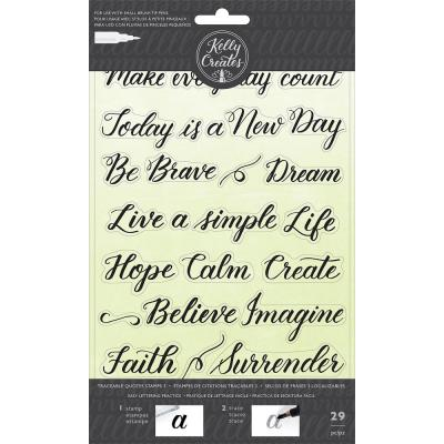 Kelly Creates - Clear Stamps - Quotes 3