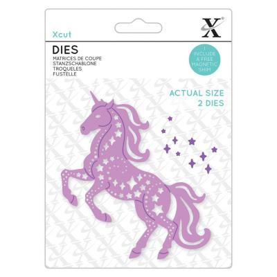 XCut Stanzschablonen - Star Unicorn