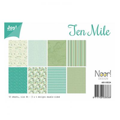 JoyCrafts Designpapier - Ten Mile