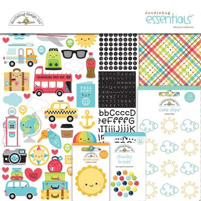 Doodlebug I Love Travel - Essentials Kit