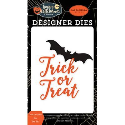 Carta Bella Happy Halloween Stanzschablonen - Trick Or Treat Bat