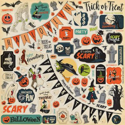 Carta Bella Happy Halloween -  Element Sticker