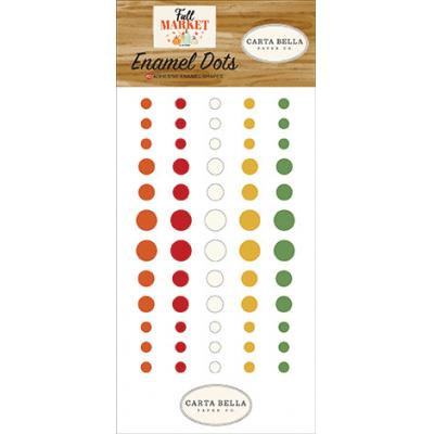 Carta Bella Fall Market - Enamel Dots