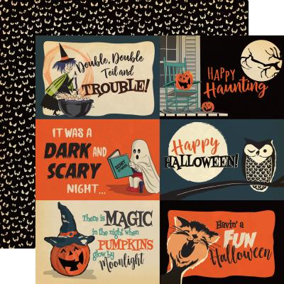 Carta Bella Happy Halloween - Journaling Cards