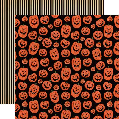 Carta Bella Happy Halloween Designpapier - Laughing Pumpkins