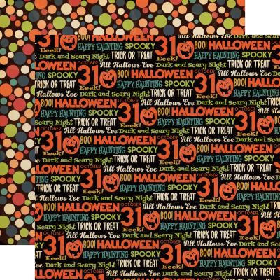 Carta Bella Happy Halloween Designpapier - All Hallows Eve