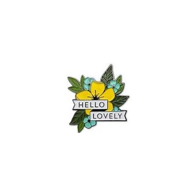 Concord & 9th Enamel Pin - Hello Lovely