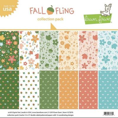 Lawn Fawn Collection Pack - Fall Fling