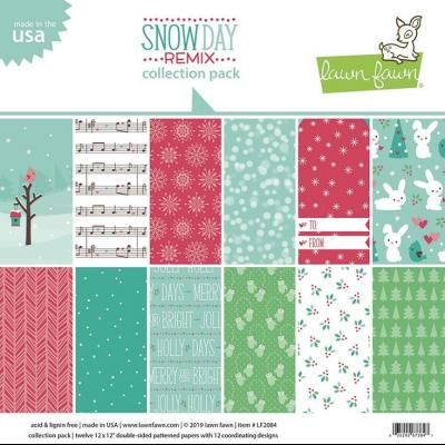 Lawn Fawn Collection Pack - Snow Day Remix
