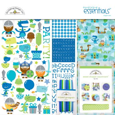 Doodlebug Dragon Tales - Essentials Kit