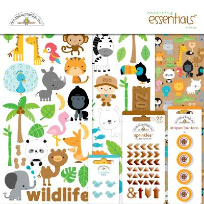Doodlebug At the Zoo - Essentials Kit