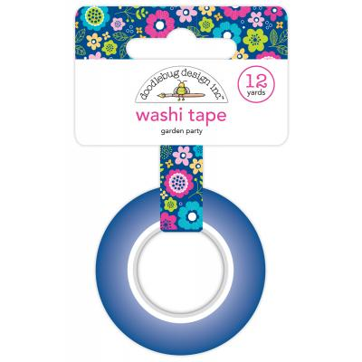 Doodlebug Hello Washi Tape - Garden Party