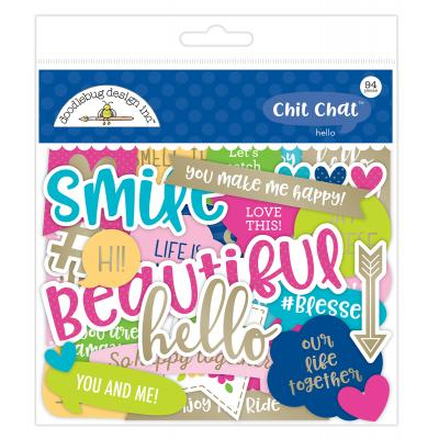 Doodlebug Hello - Chit Chat