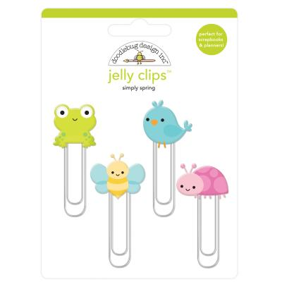 Doodlebugs Simply Spring - Jelly Clips