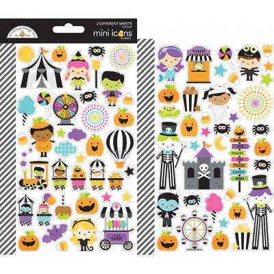 Doodlebugs Candy Carnival - Mini Icons Sticker
