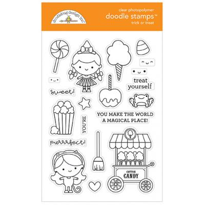 Doodlebugs Candy Carnival Doodle Stamps - Trick or Treat