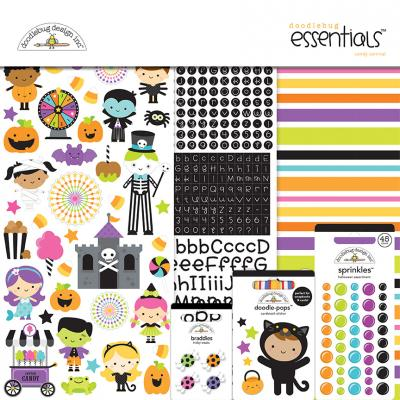 Doodlebugs Candy Carnival - Essentials Kit
