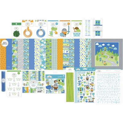 Doodlebug Dragon Tails Scrapbook Set - Value Bundle