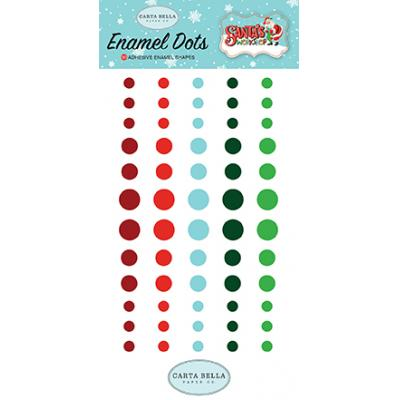 Carta Bella Santa's Workshop - Enamel Dots