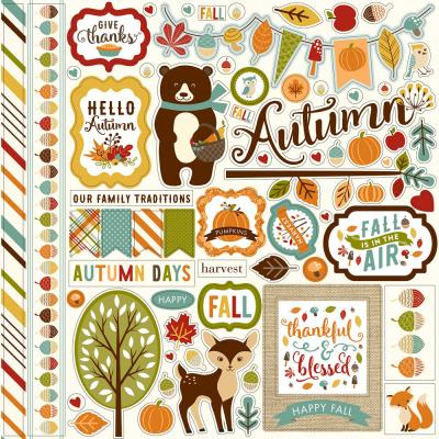 Echo Park - Fall is in the Air - Stickerbogen
