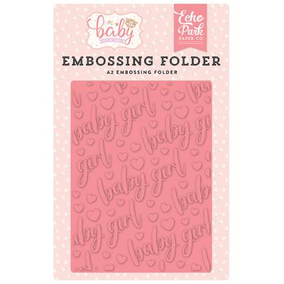 Echo Park Hello Baby Girl Embossingfolder - Baby Girl